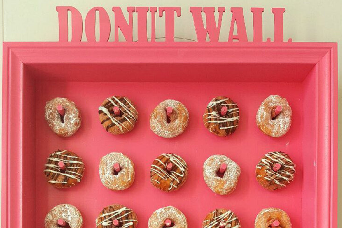 FreshBake Doughnut Wall