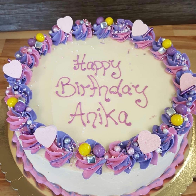 Freshbake Pink & Purple Cake